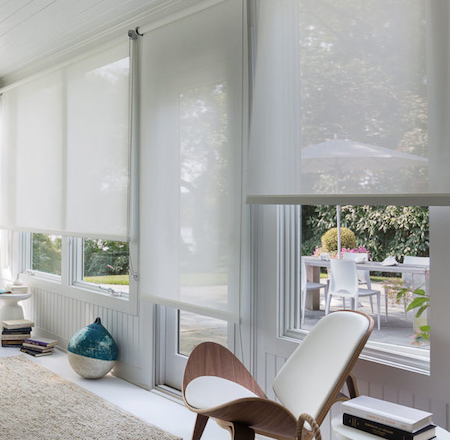 sunscreen blinds great in the home